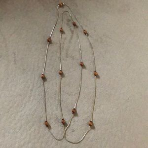 👩 Brown beaded necklace 👩